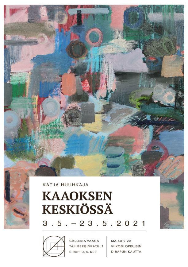 Katja Huuhkajan näyttelyjuliste